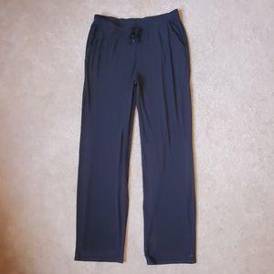 Cuddl Duds softwear black pants size Medium